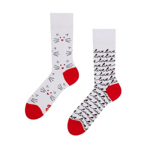 Good Mood | Adult Regular Socks | Cat Love